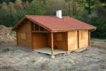 Víkendové chaty ukázka - Rekreační chata 6x7,5m