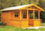 Zahradní chatky ukázka - Coutry Ed3 50T